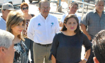 Presidenta Municipal y Alcaldesa electa realizan recorrido por la PTARH