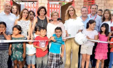 "Inauguran Centro Comunitario ""Creciendo Sano"" en Etchohuaquila"