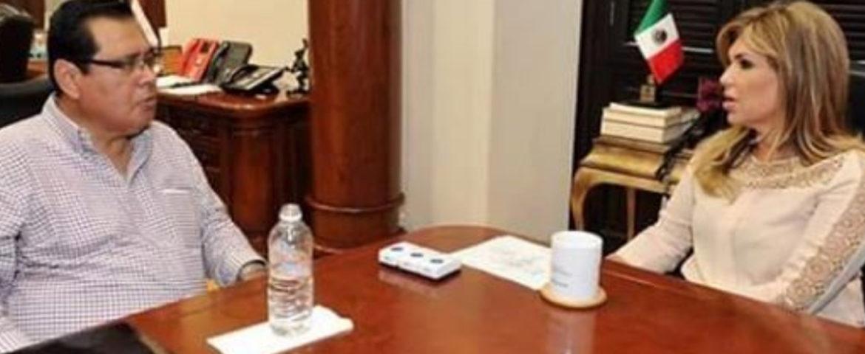 Dialoga Sergio Pablo Mariscal con gobernadora CPA
