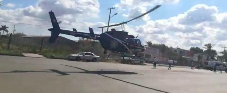 Llega Al Hospital Helicóptero Con Una Mujer Baleada