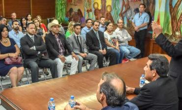 Adquieren compromiso de servir a la comunidad nuevos funcionarios del Gobierno Municipal