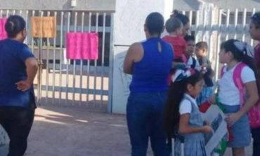 Cierran padres escuela primaria de Pueblo Yaqui
