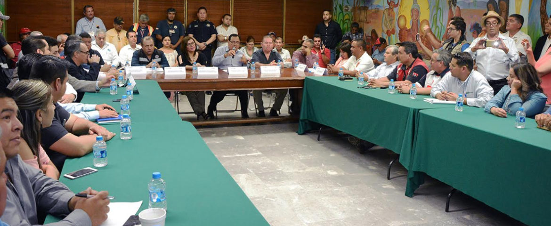 Instalan El Comité De Operación De Emergencias En Cajeme