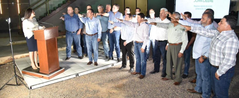Toma protesta presidenta municipal Consejo Directivo de Riego