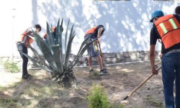 Menores infractores realizan trabajo comunitario en Casa Hogar Juan Pablo II Recibidos x