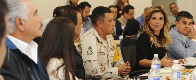 """Preside Gobernadora reunión de emergencia por """"Sergio"""