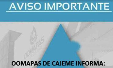 AVISO OOMAPAS DE CAJEME NOVIEMBRE 13TH, 2018 OBREGÓN