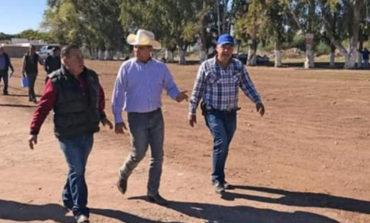 Presidente municipal Ramón Díaz Nieblas arranca programa de reforestación