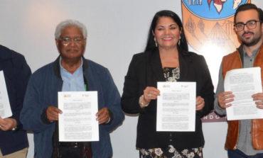 Firma Convenio Ayuntamiento con Fundación Ambiental del Valle del Yaqui para Reforestar  la Carretera Obregón-Navojoa