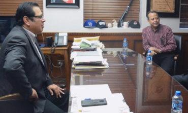 Recibe Alcalde Mariscal Alvarado A Delegado Del Imss