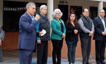 RDN anuncia rehabilitación de tejaban en esc prim Ma Tapia