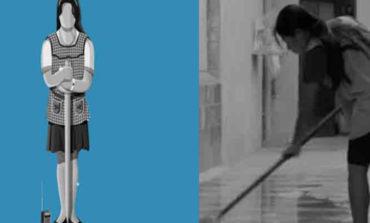 Convierten a Yalitza en estatuilla del Oscar en blanco y negro