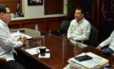 Se reune Alcalde Sergio Pablo Mariscal con Vicepresidente de Constellation Brands