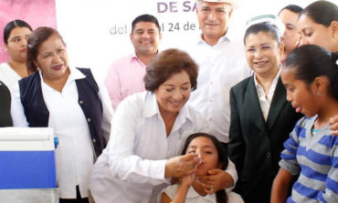 Presidente Ramón Díaz inauguró la segunda semana nacional de salud
