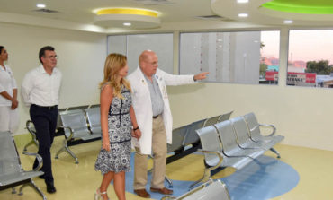 Entrega Gobernadora Pavlovich modernas áreas en el Hospital Infantil