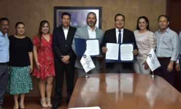 Firma Alcalde Convenio De Colaboración Con Tecnológico De Monterrey