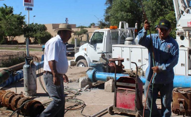 Lista la obra en el tanque elevado y la gente tiene agua de nueva cuenta