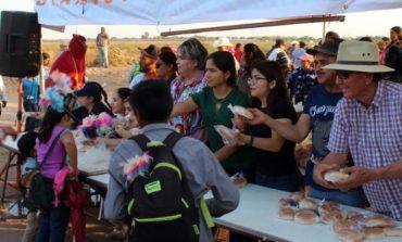 Más de 25 peregrinos acompañan a la Santísima Trinidad
