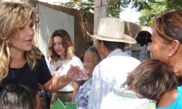 Apoya Gobernadora a familias a mejorar condiciones de su vivienda