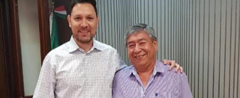 Presenta Alcalde Kiko Munro proyectos estratégicos a diputado electo de Morena