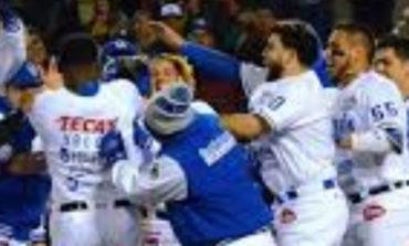Yaquis vence 4-3 a Cañeros de Los Mochis
