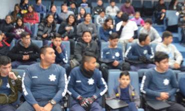 Imparten curso de 'Perserverancia' a integrantes del Escuadrón Juvenil