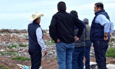 RDN supervisa los trabajo que se realizan en el basurón municipal