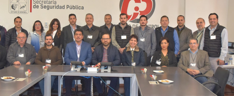 Trazan SSP y Canacintra Hermosillo alianza por la seguridad