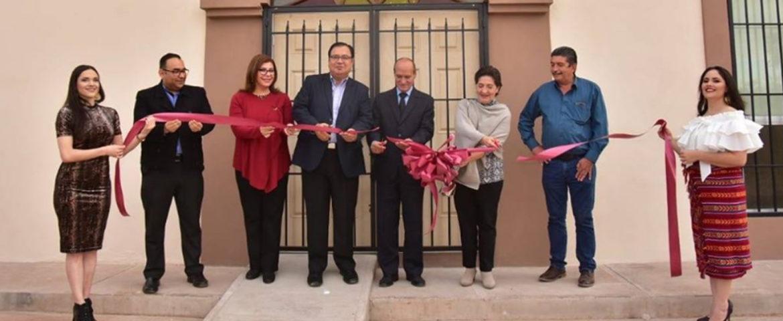 Inauguran Centro Cultural Achai