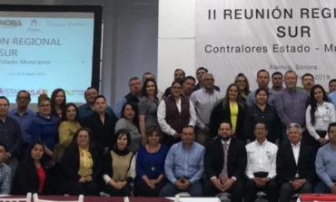 Asiste contralor mpal Raúl Soto Torres a segunda reunión regional en Álamos