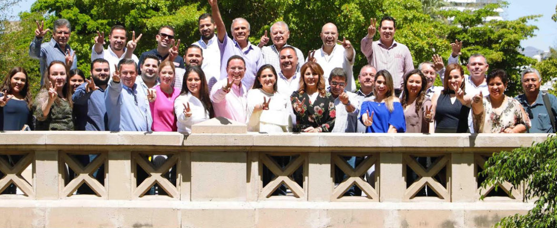 """Agradece alcaldesa Celida López a empresarios que han participado en el programa """"Transformando Mi Parque"""""""