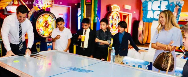 Convive Alcalde con Niños en la Comuna Infantil 2019