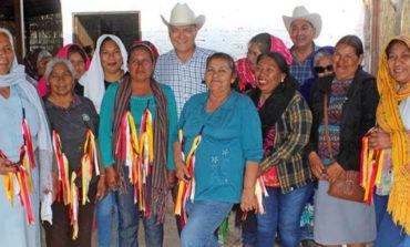 Visita Ramón Díaz celebraciones tradicionales de cuaresma en comunidades indígenas