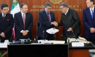 Recibe el Senado proyecto de leyes de la Guardia Nacional