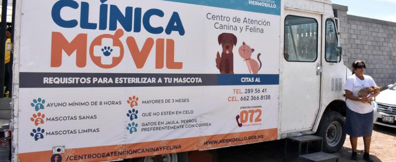 Reciben vecinos del Norte de la ciudad servicios gratuitos para sus mascotas