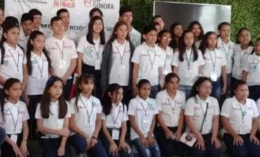Participan huatabampenses en elección del niño difusor 2019