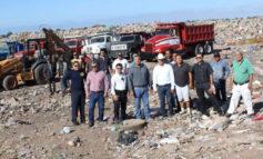 Empezaron los trabajos en el basurón municipal