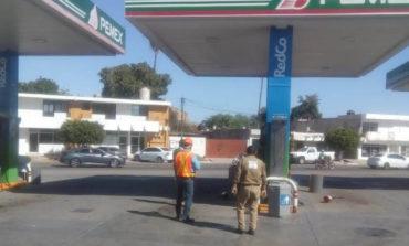 Protección Civil y bomberos llevan a cabo cinco simulacros de evacuación en diferentes gasolineras