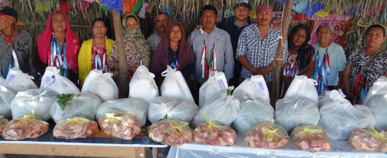Ayuntamiento entrega apoyos en Pozo Dulce y La Escalera, en fiestas de la Santa Cruz y virgen de Fátima, respectivamente