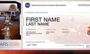 ¡Inscríbete! La NASA busca nombres para enviar a Marte