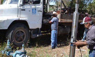 OOMAPAS Navojoa Invierte alrededor de 60 mil pesos en equipamiento de pozo en Comisaría Rosales