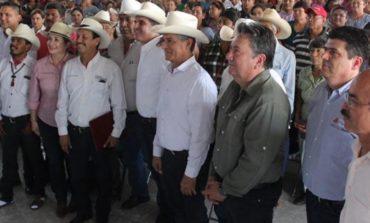 Presidente Ramón Díaz acompañó en gira de trabajo al secretario de gobierno