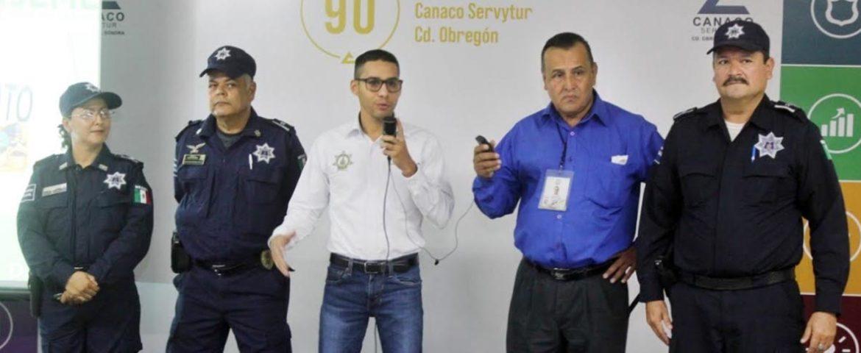 Lleva Sspm Pláticas De Prevención De Robos Y Asaltos A Empresarios De Canaco
