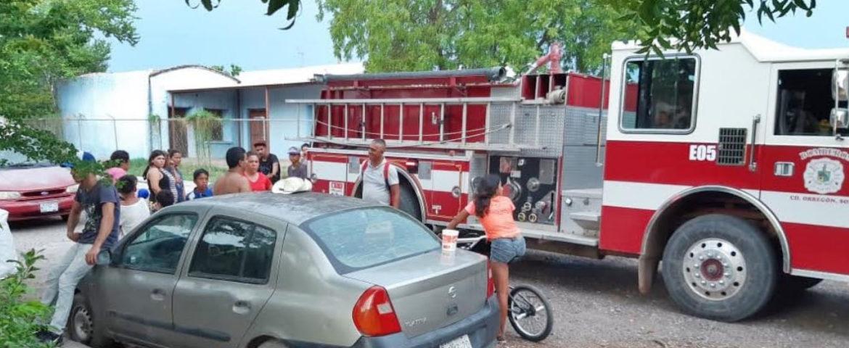 Salvan Policías Municipales A Un Hombre En Incendio De La Colonia Beltrones