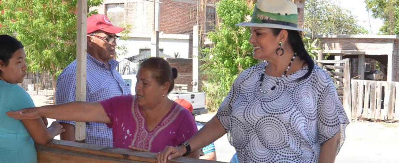 Supervisa Alcaldesa Rosario Quintero puntos de conflicto ante inicio de temporada de lluvias