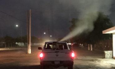 Dirección de Salud Municipal lleva a cabo acciones de fumigación contra el mosco