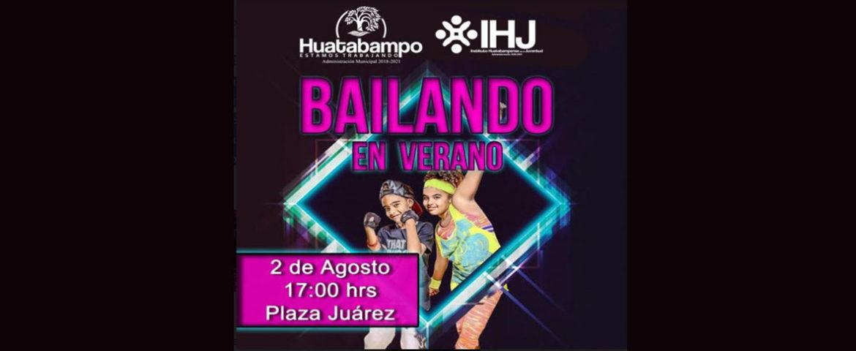 IHJ a punto de iniciar el programa Bailando en Verano