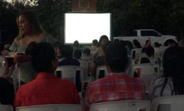 IHJ lleva el programa cine en tu colonia a diferentes lugares del municipio