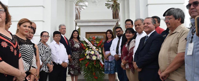 Alcaldesa preside Ceremonia por el XCI Aniversario Luctuoso del General Álvaro Obregón Salido
