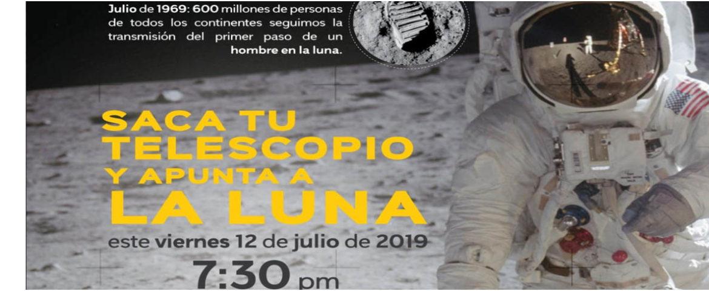Invita DIF Cajeme a través del Planetario  a conmemorar el primer paso del hombre a la luna